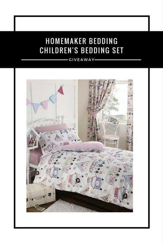 Homemaker Bedding - Children's Bedding Set #Giveaway