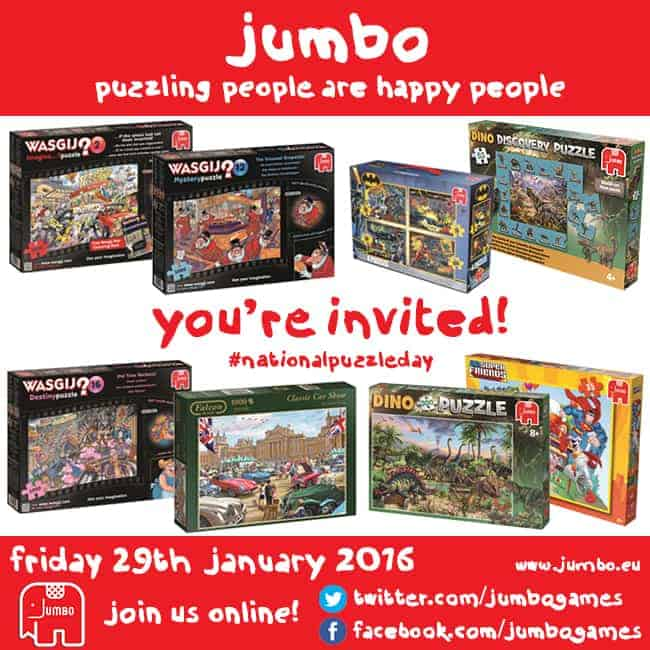 Jumbo twitter party invite