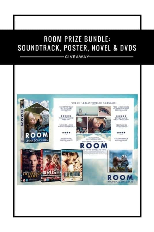 ROOM prize bundle #Giveaway