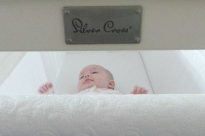 Silver Cross Nostalgia Crib {Solid Wooden Frame}