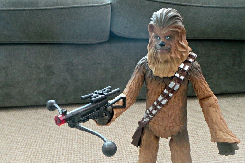 Star Wars The Force Awakens Chewbacca Talking Action Figure