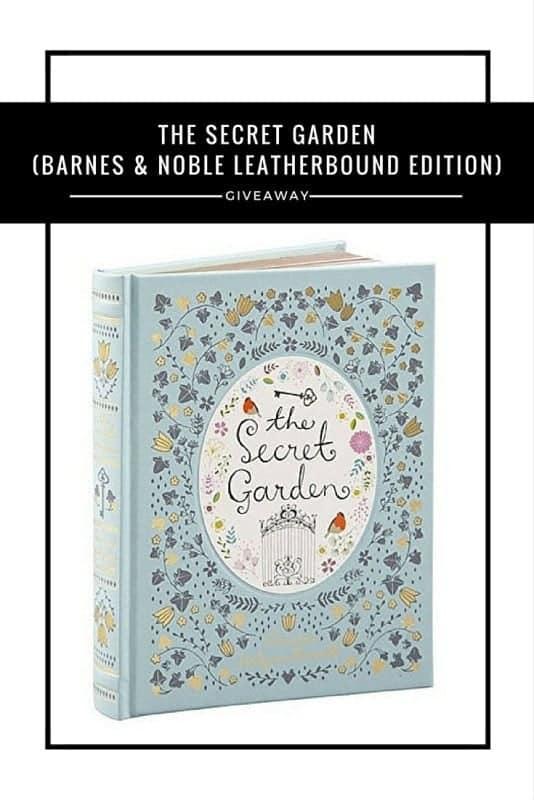 The Secret Garden Barnes Amp Noble Leatherbound Edition