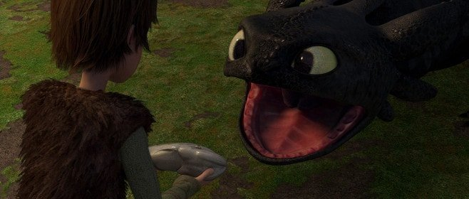 Still image from the DreamWorks animated picture 'How to Train Your Dragon