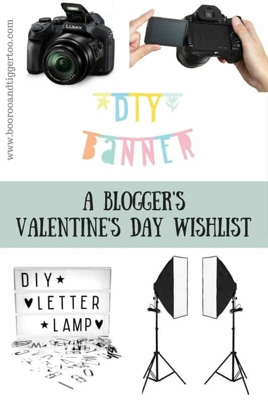 A Blogger's Valentine's Day Wishlist