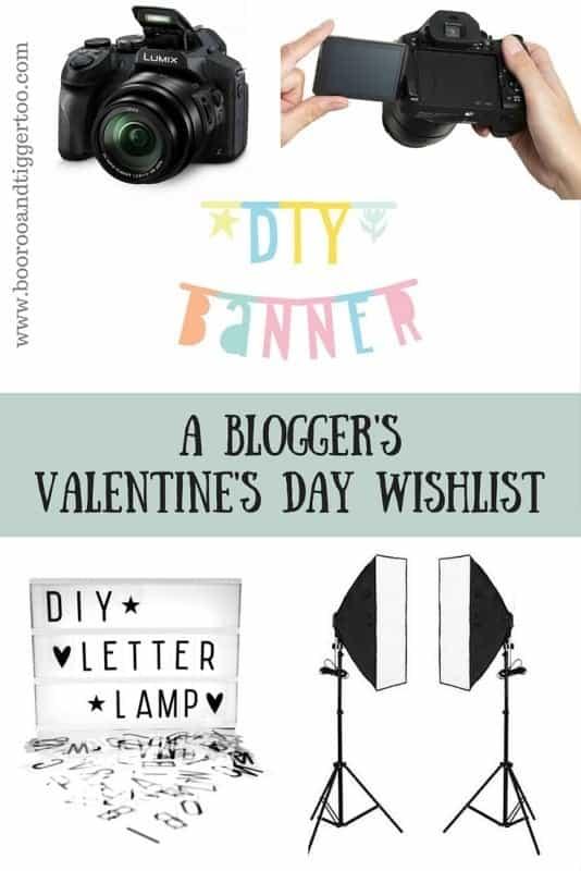A Blogger's Valentine's Day Wishlist