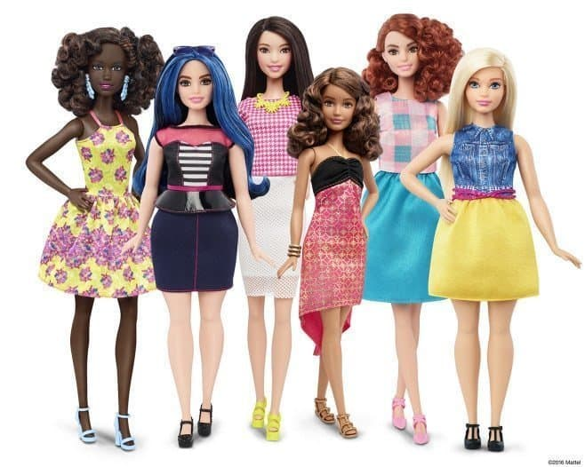 the new 2016 Barbie Fashionistas doll line