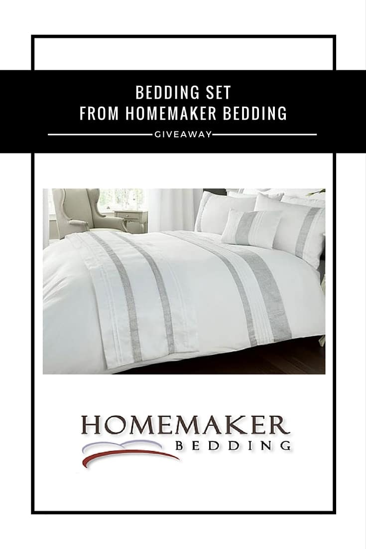 Bedding Set from Homemaker Bedding #Giveaway