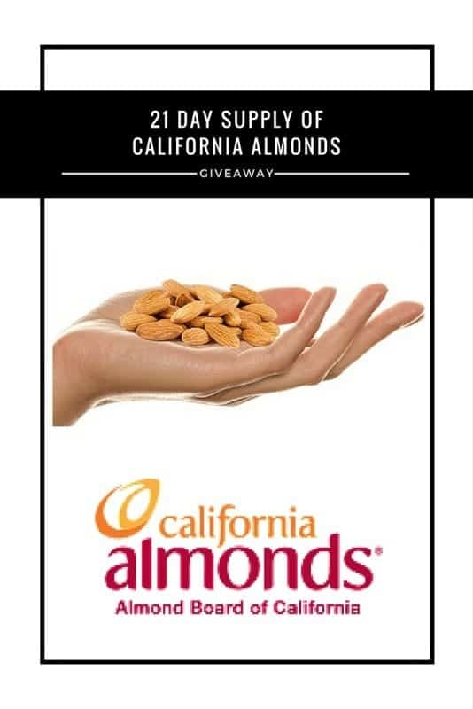 California Almonds #Giveaway