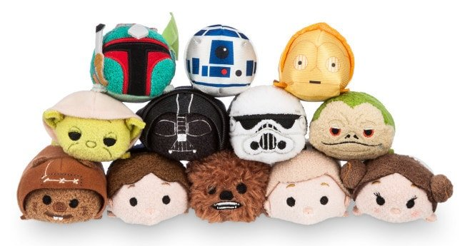 Disney Store Star Wars Tsum Tsum - Stack