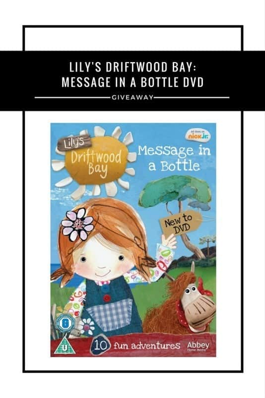 Lily's Driftwood Bay- Message In A Bottle DVD #Giveaway