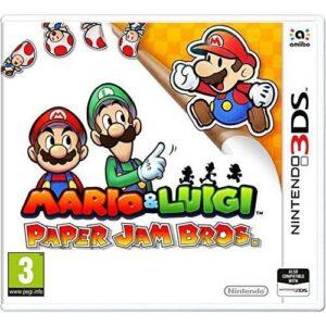 Mario & Luigi Paper Jam on he Nintendo 3DS