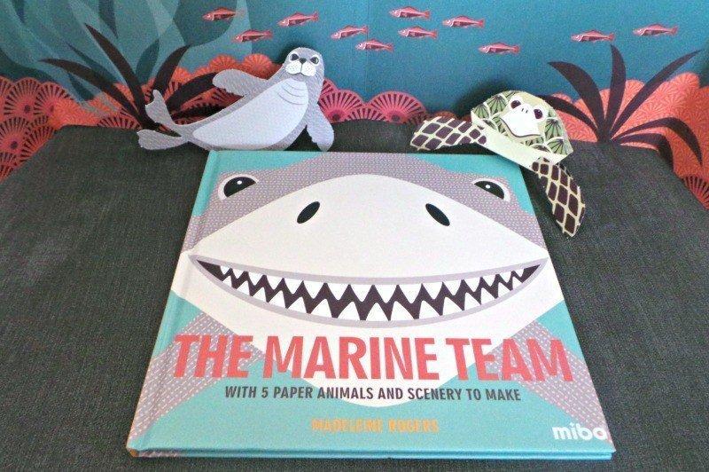 Mibo | The Marine Team children's book