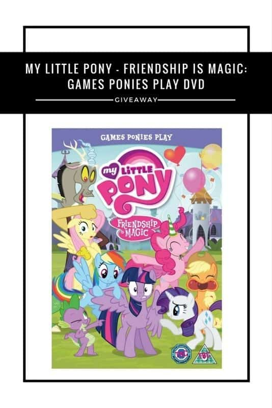 My Little Pony - Friendship Is Magic- Games Ponies Play DVD #Giveaway