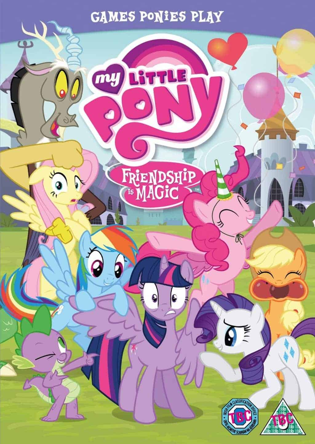 My Little Pony - Friendship Is Magic: Games Ponies Play ...