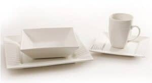 Nova Square Wave 16pc Dinner Set