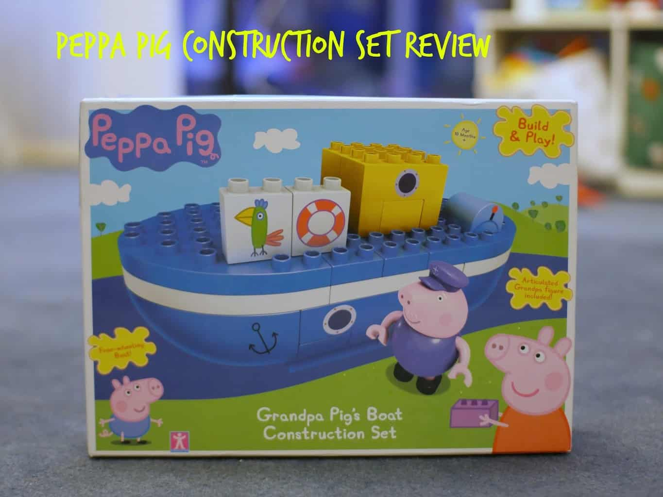 Peppa Pig Grandpa pig's boat construction set
