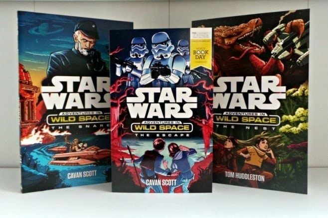 Star Wars - Adventures in Wild Space books