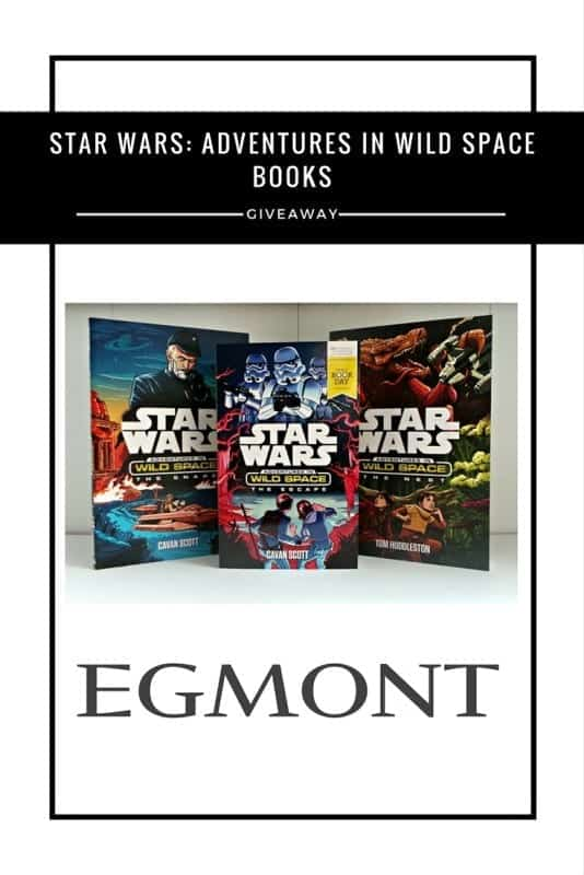 Star Wars- Adventures in Wild Space books #Giveaway