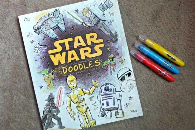 Star Wars - Doodle book