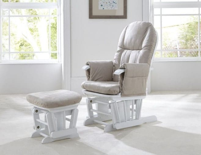Tutti Bambini GC35 Deluxe Glider Chair & Stool