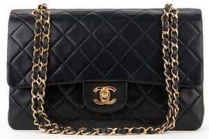 Black-Quilted-Lambskin-Vintage-Medium-Classic-Double-Flap-Bag