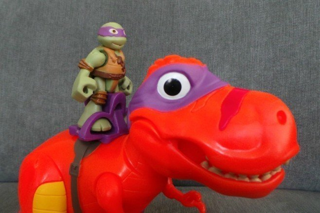 Half Shell Heroes T-Rex and Donnie