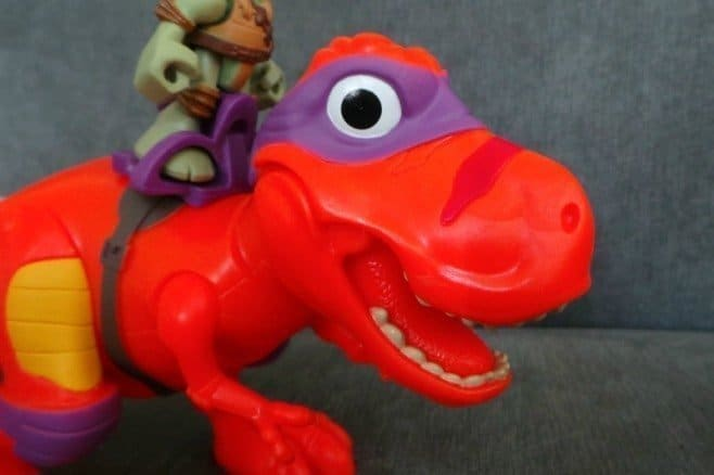 Half Shell Heroes T-Rex and Donnie - Roar