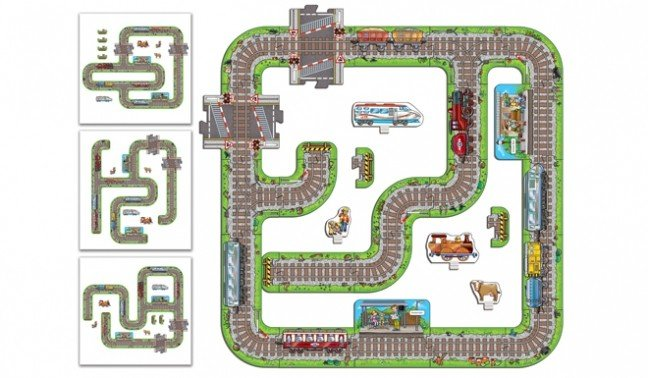 Orchard Toys Giant Railway - Track layout suggestions