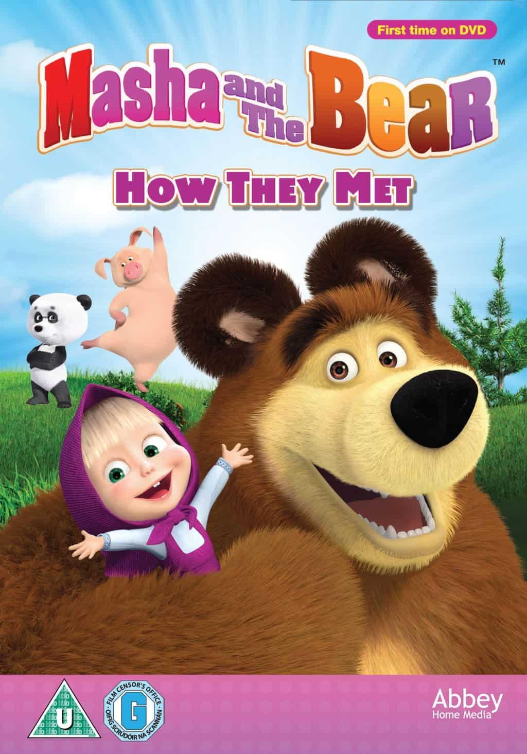 Thomas The Train Bedroom Decor Masha And The Bear How They Met Dvd