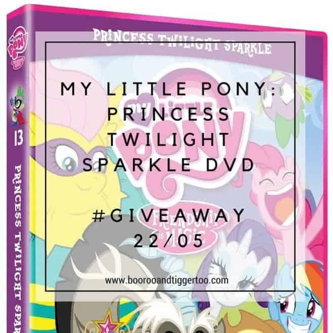 May 6 - My Little Pony- Princess Twilight Sparkle DVD - instagram