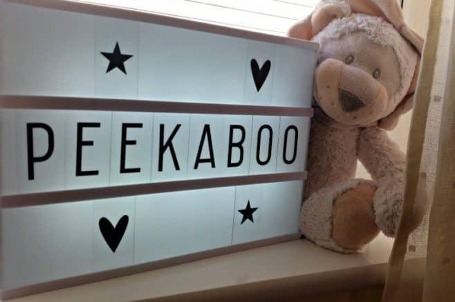 Mini Maision A4 Lightbox - Peekaboo
