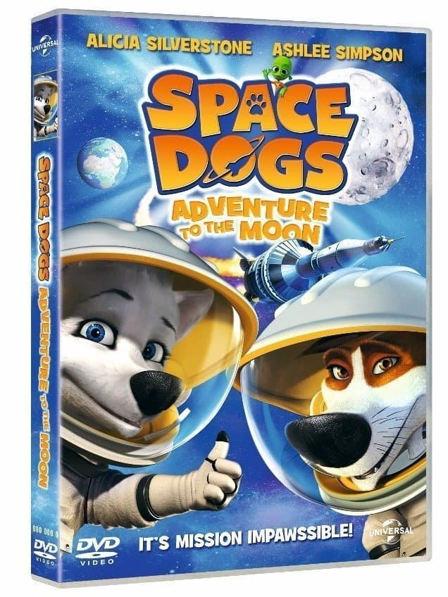 Space Dogs Adventure to the Moon DVD