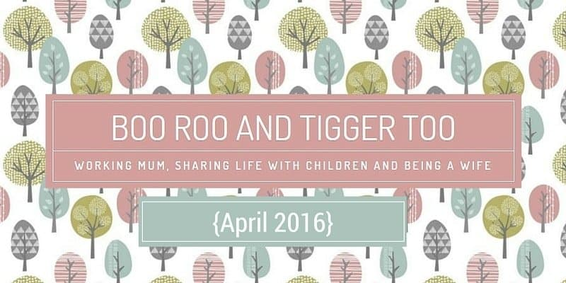 Boo Roo and Tigger Too {April 2016}