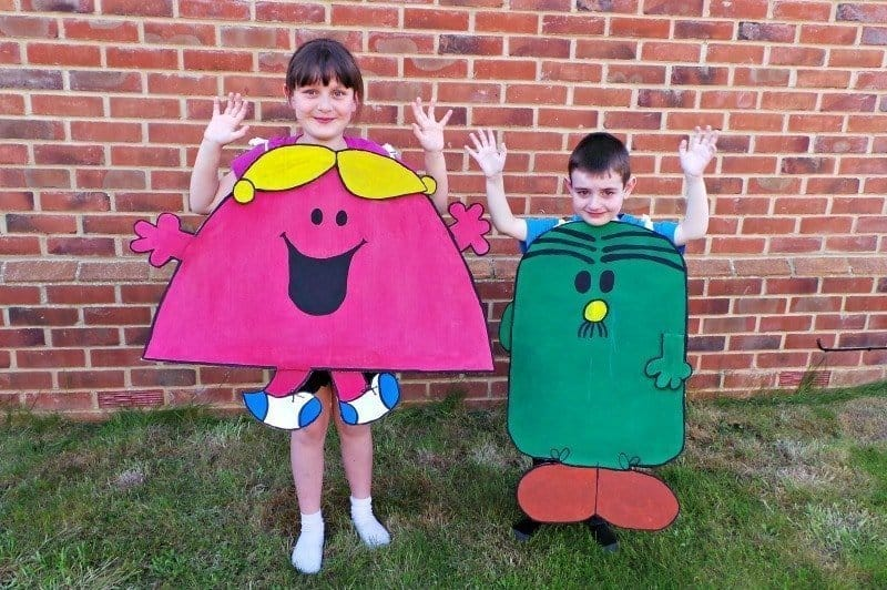 Celebrating with a Mr. Men Birthday Party - Costumes
