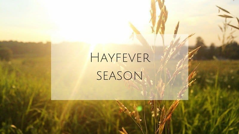 Hayfever season