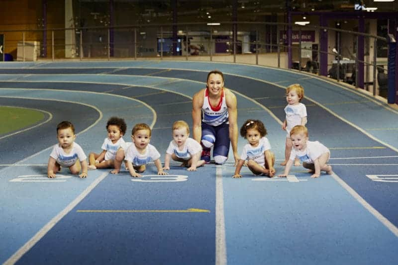 Jess Ennis Pampers Little Champions 2