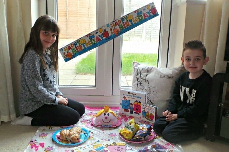 Mr. Men Birthday Party - Indoor Picnic