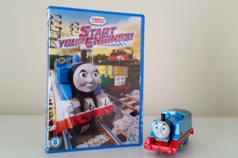 Thomas & Friends Start Your Engines DVD