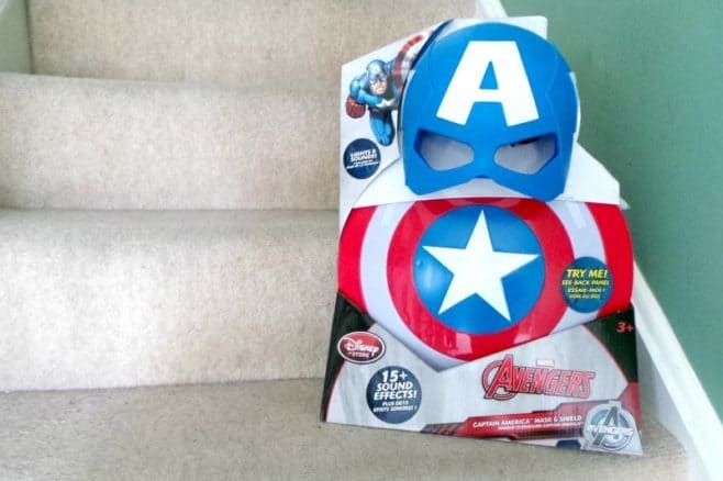 Captain America Civil War Mask and Shield