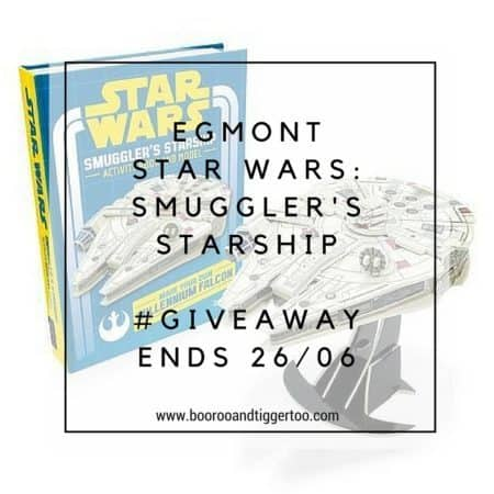 June 10 - Egmont Star Wars- Smuggler's Starship - instagram