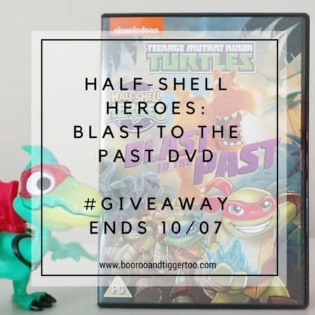 June 20 - TMNT Half-Shell Heroes- Blast To The Past DVD - instagram