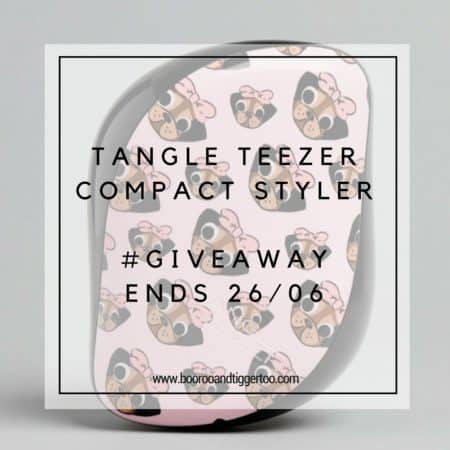 June 7 - Tangle Teezer Compact Styler - instagram