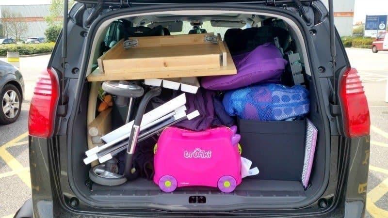 Peugeot 5008 - IKEA Trip