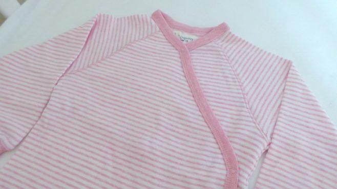 Sense Organics Striped Wrap-Growsuit