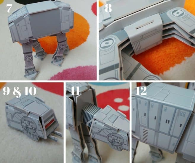 Star Wars Battle Stations Activity Book and Model - Steps 7 -12