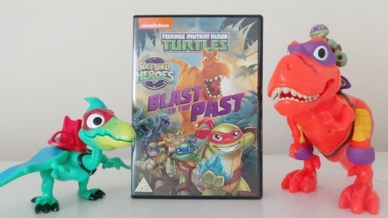 TMNT Half-Shell Heroes: Blast To The Past DVD