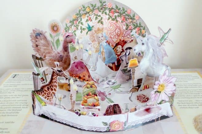 Alice Through The Looking Glass - Pop up finale