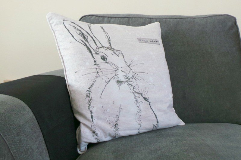 Graham and Brown - Wild Heart Hare Cushion