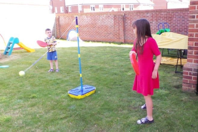Let the summer holidays begin - Roo and Tigger Swingball