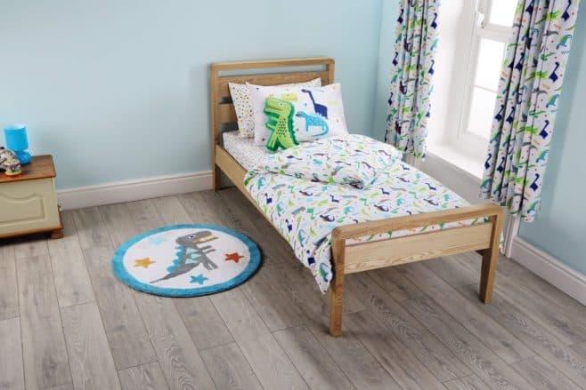Aldi - dinosaurs toddler bedroom